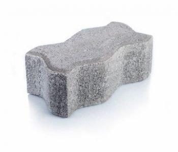 Bloque de cemento Adoquín Uni de 8 cm. de espesor