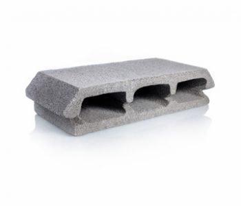 Bloque de cemento para loza de 10 cm. de espesor