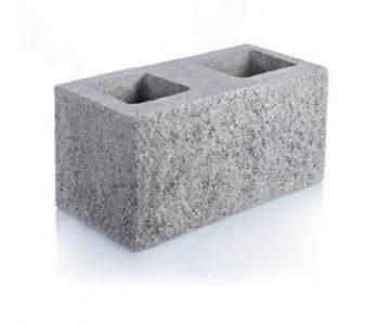 Bloque de cemento Simil Piedra Esquinero para muro de 20 cm. de espesor