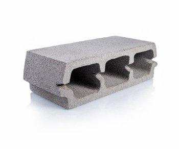 Bloque de cemento para loza de 12 cm. de espesor