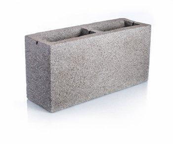 Bloque de cemento para muro Visto de 13 cm. de espesor