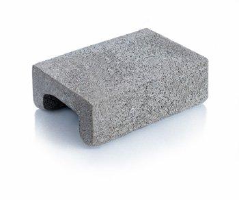Bloque de cemento Tapa para capa aisladora de 13 cm. de espesor