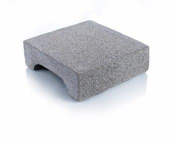 Bloque de cemento Tapa para capa aisladora de 20 cm. de espesor