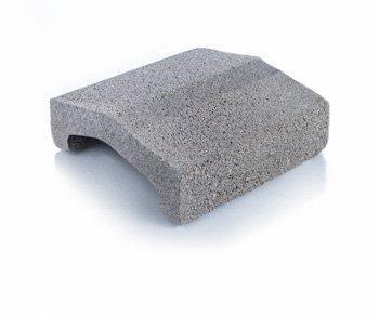 Bloque de cemento Tapa para muros de 20 cm. de espesor